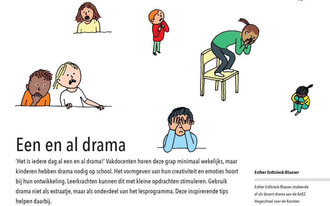 Het is hier iedere dag al één en al drama (Praxis Bulletin Mei 2018)