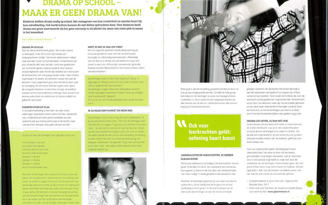 Drama op school: maak er geen drama van (ICC Gids 2019)